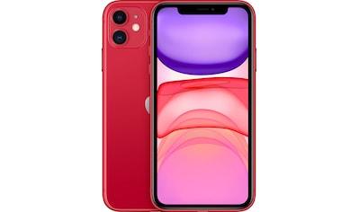 """Apple Smartphone »iPhone 11«, (15,5 cm/6,1 """" 64 GB Speicherplatz, 12 MP Kamera), ohne Strom-Adapter und Kopfhörer kaufen"""
