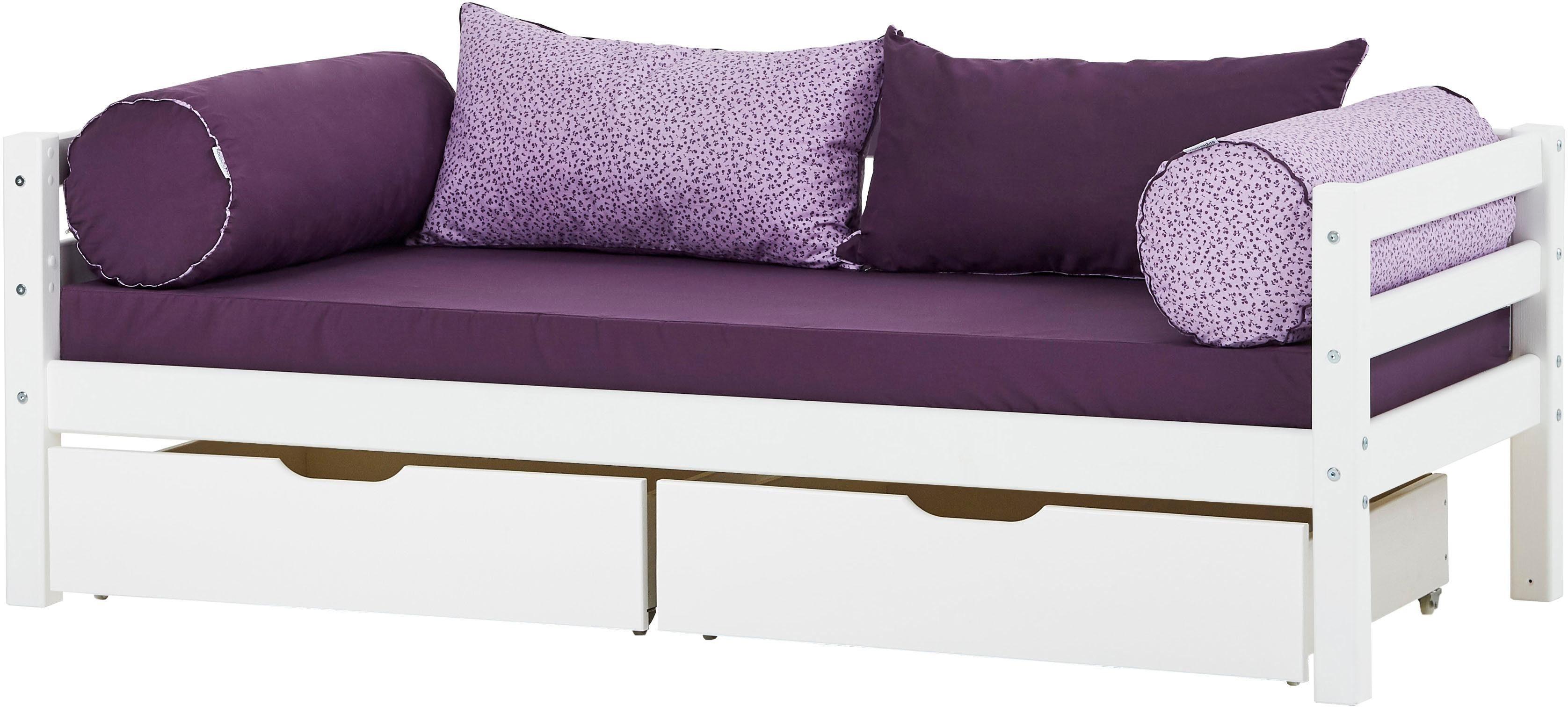 Hoppekids Einzelbett BASIC (2 Teile Bett und Matratzen)