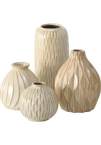 BOLTZE Dekovase »Zalina«, mit unterschiedlichen Mustern kaufen