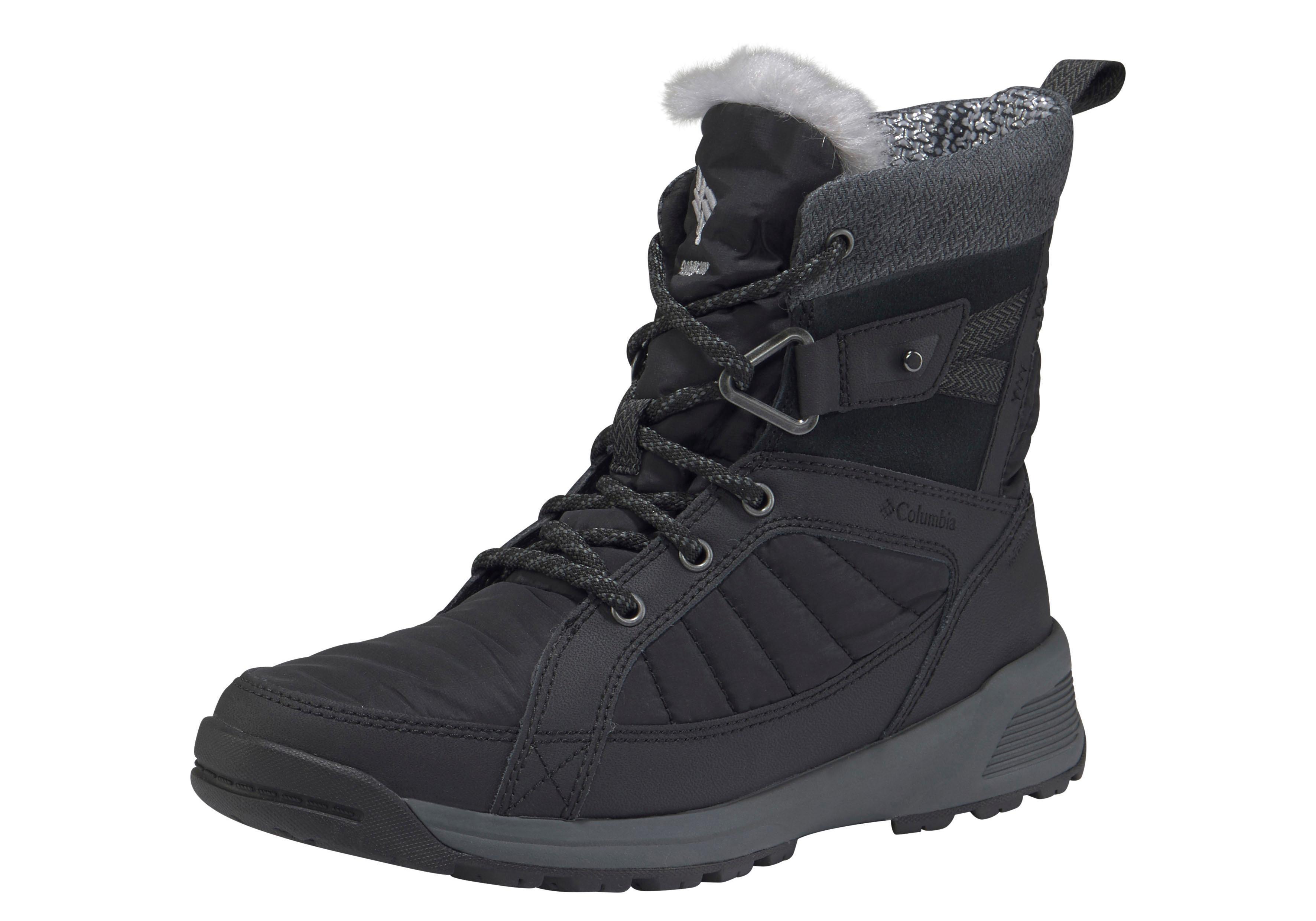 Columbia Outdoorwinterstiefel »MEADOWS? SHORTY OMNI-HEAT? 3D« | Schuhe > Outdoorschuhe > Outdoorwinterstiefel | Schwarz | COLUMBIA