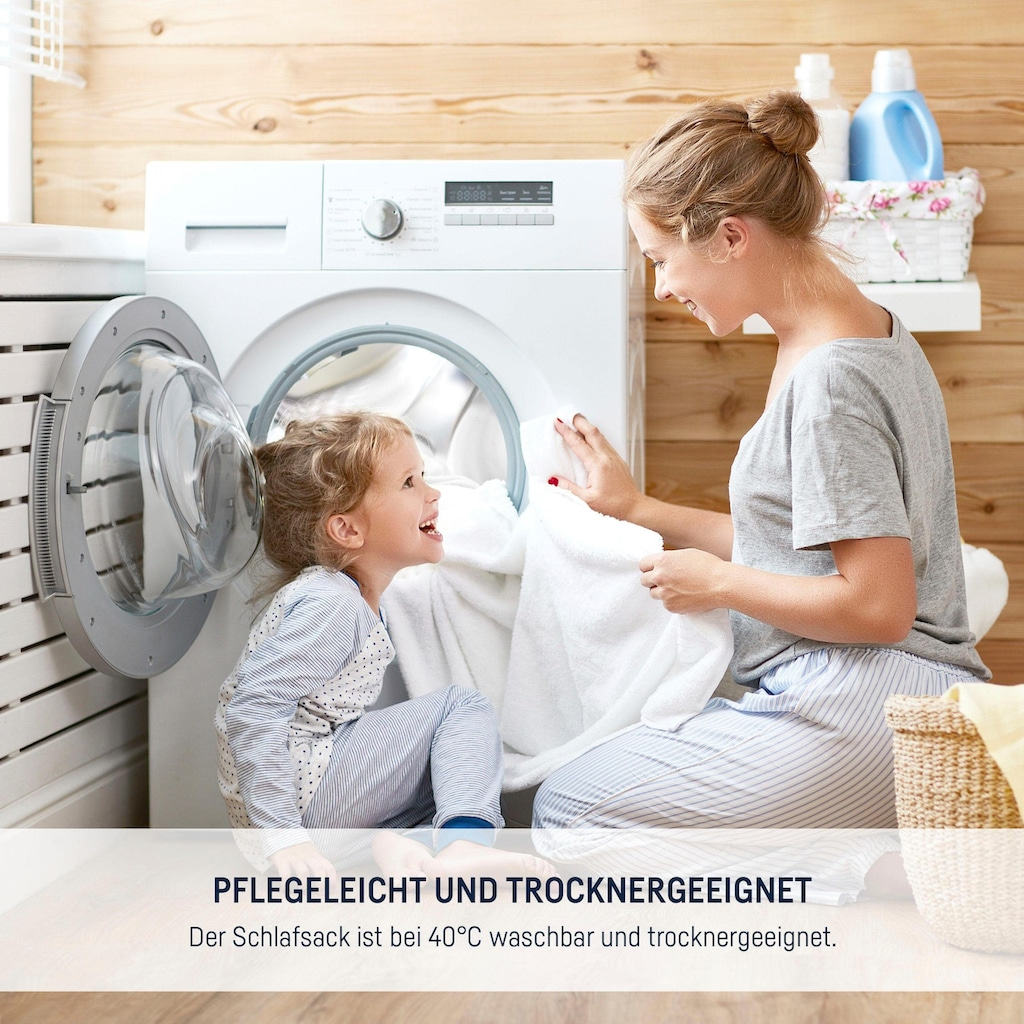 Julius Zöllner Babyschlafsack »Nordic Baer«, (1 tlg.)