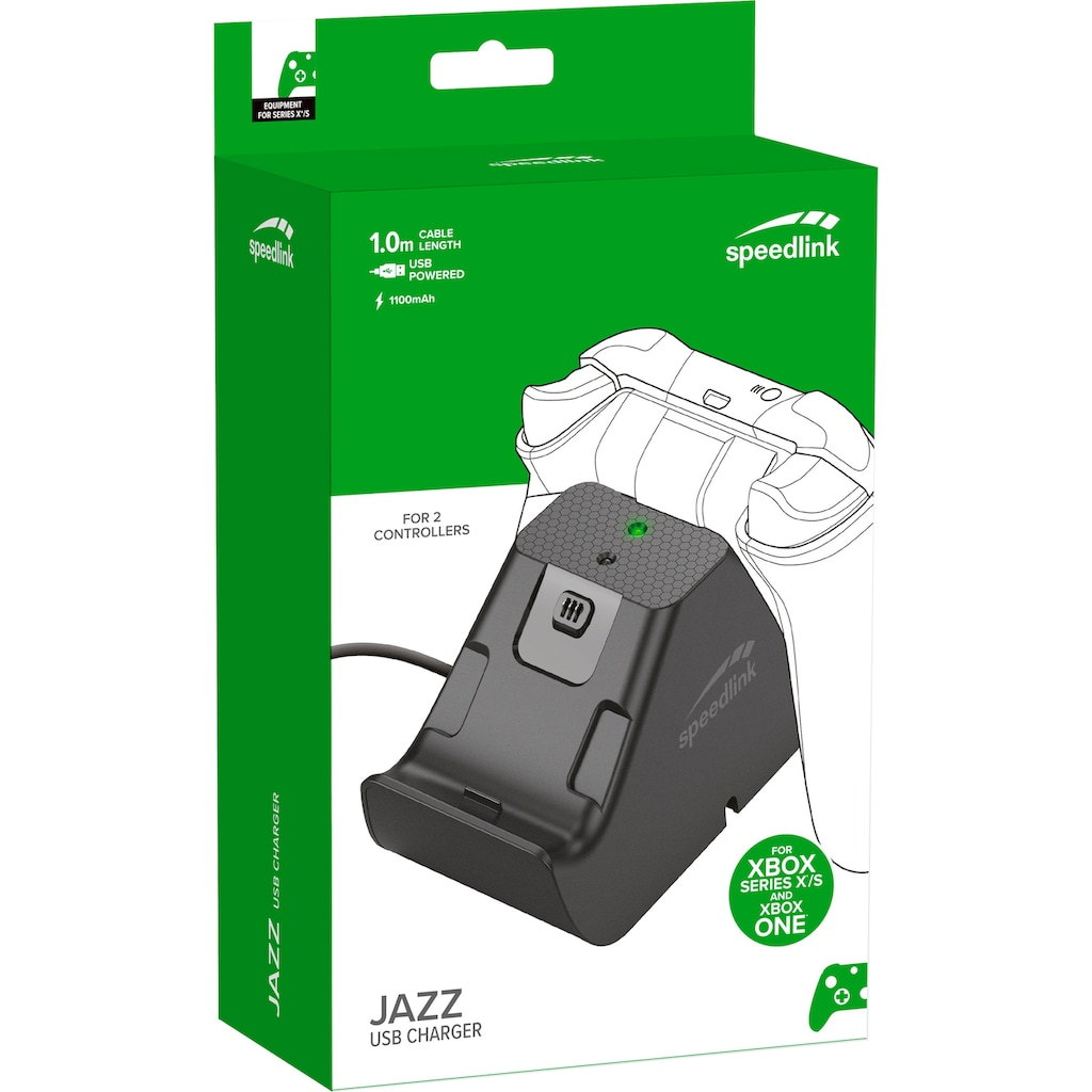 Speedlink Akku-Ladestation »JAZZ USB Charger for Xbox Series X/S«