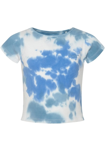 Pepe Jeans T-Shirt »Anita«, im modischen Batikmuster kaufen