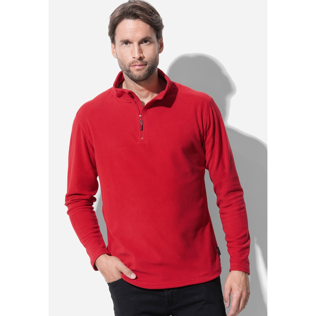 Stedman Troyer »Outdoor Fleece Pullover«, mit Stehkragen