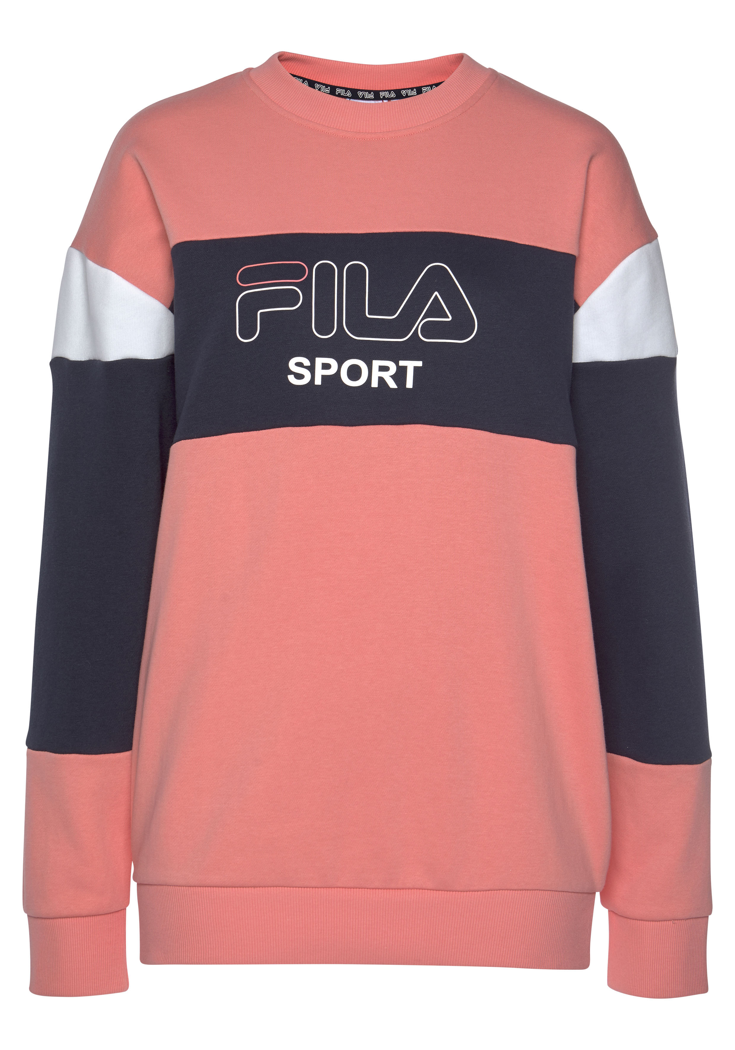 Fila Sweatshirt LANA crew sweat rosa Damen Sweatshirts Shirts