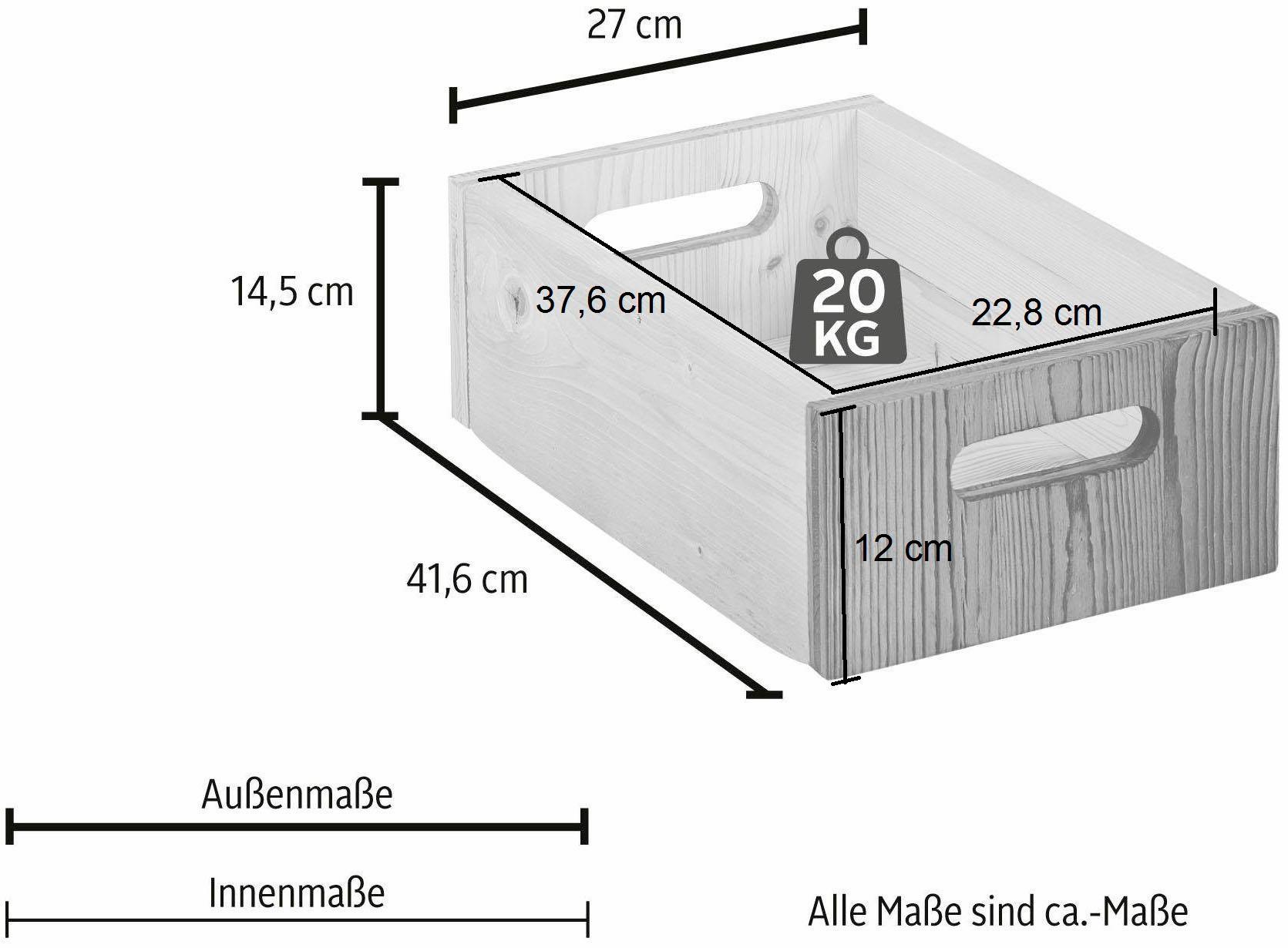 Home affaire Aufbewahrungskiste Wohnen/Räume/Schlafzimmer/Truhen, Kisten & Körbe/Boxen