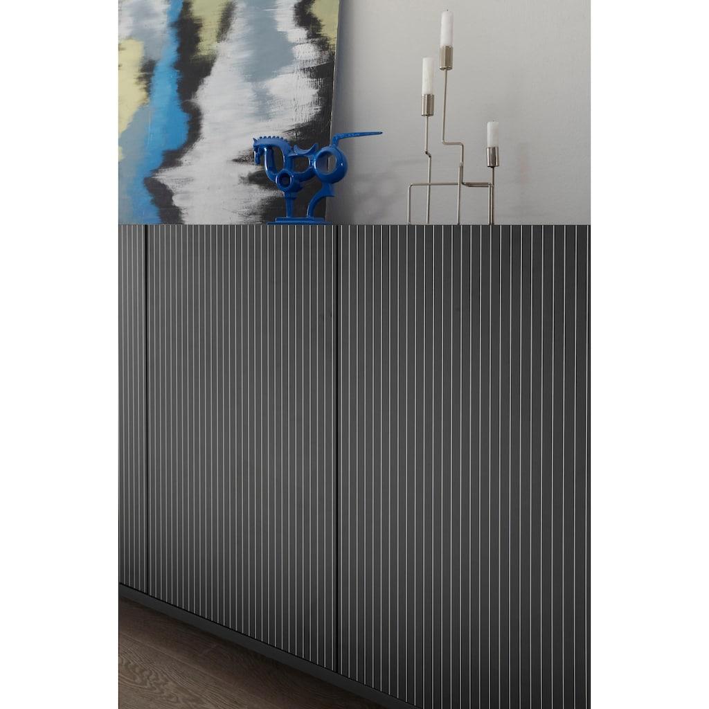 LC Sideboard »Charme«, mit Siebdruck »Streifen«