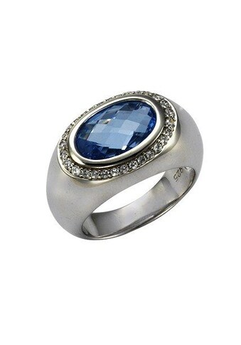 Vivance Ring »925/ -  Silber Blautopas Zirkonia« kaufen