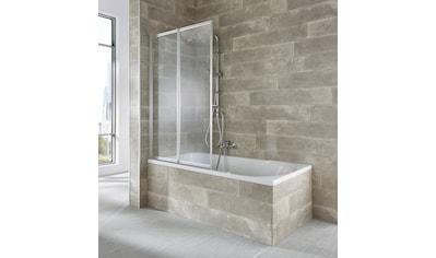 WELLTIME Badewannenaufsatz »Nassau«, 2 - tlg., silber kaufen