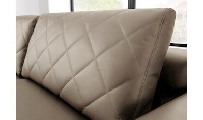 W.SCHILLIG 2,5-Sitzer »sam«, mit Diamant-Absteppungen, Metall-Winkelfüße Chrom... kaufen