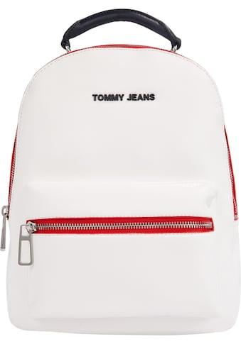 Tommy Jeans Cityrucksack, mit modischen Kontrastnähten kaufen