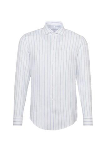 seidensticker Businesshemd »Shaped«, Shaped Langarm Kentkragen Streifen kaufen