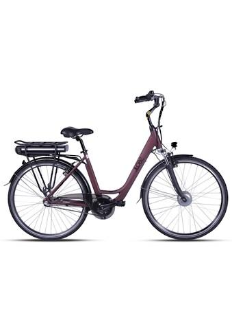 LLobe E-Bike »Metropolitan JOY rot 10 Ah« kaufen
