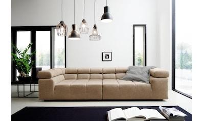 INOSIGN Big-Sofa »Ancona«, mit auffälliger Steppung, inkl. 2 Zierkissen und... kaufen