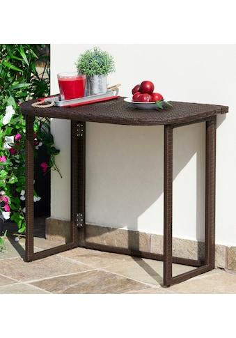 MERXX Gartentisch »Rattan«, 50x90 cm kaufen