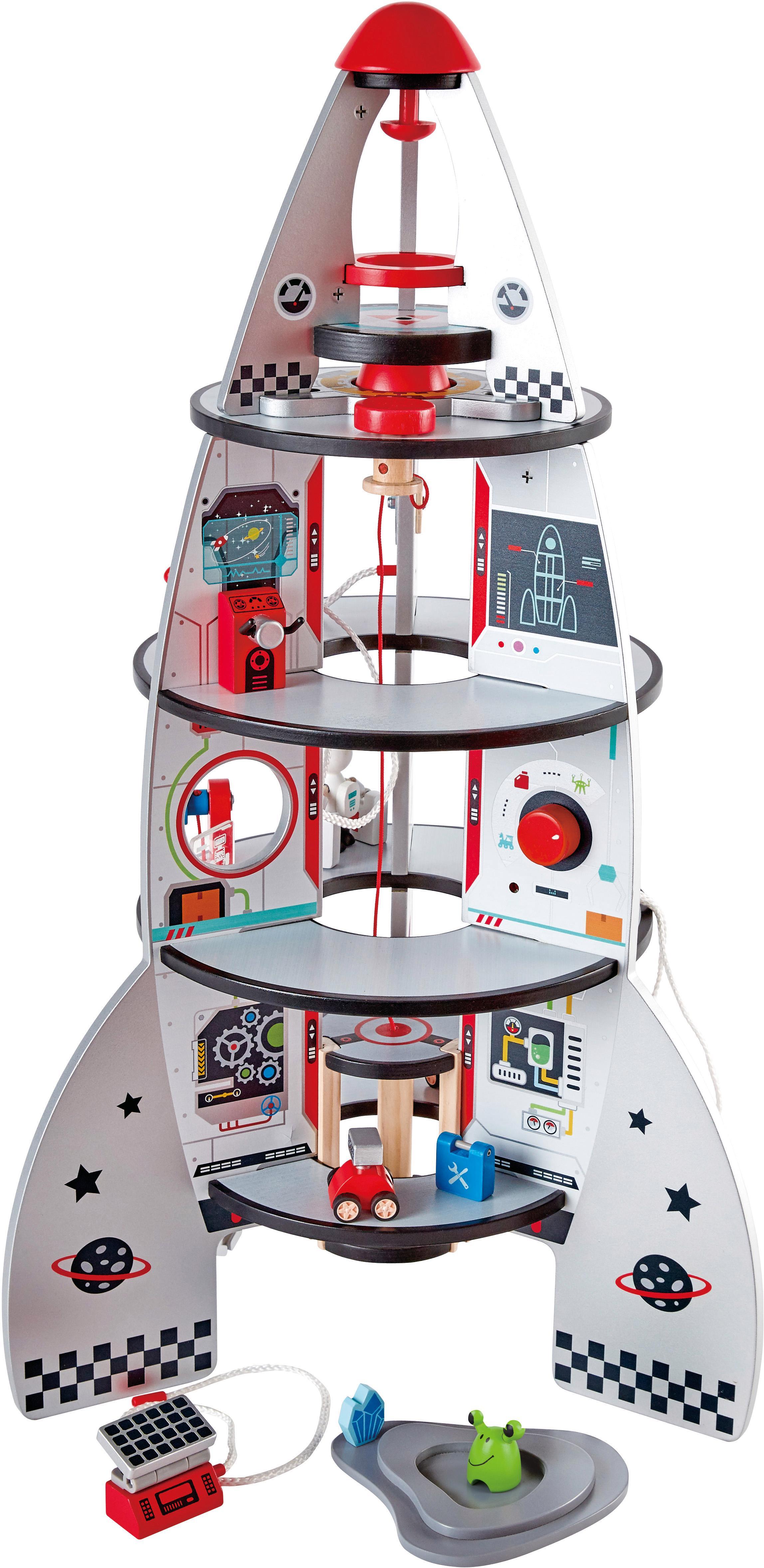 """Hape Spielwelt """"Vierstufenrakete"""" Technik & Freizeit/Spielzeug/Autos, Eisenbahn & Modellbau/Spielzeugautos/Zubehör für Spielzeugautos"""