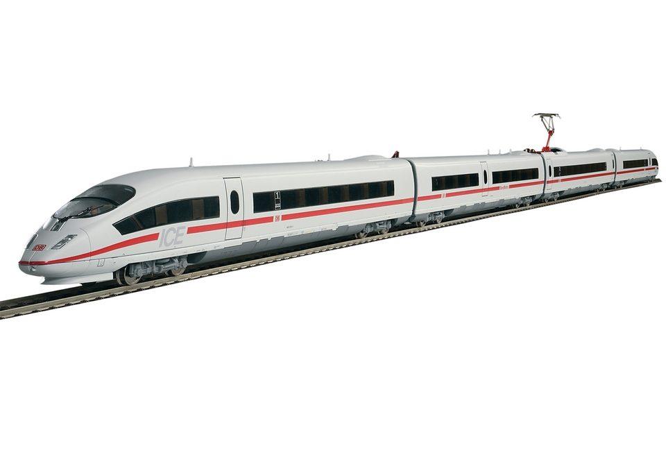 "PIKO Modelleisenbahn-Set ""ICE 3 - Analog - 57194"" Spur H0 Technik & Freizeit/Spielzeug/Autos, Eisenbahn & Modellbau/Modelleisenbahnen/Modelleisenbahn-Sets"