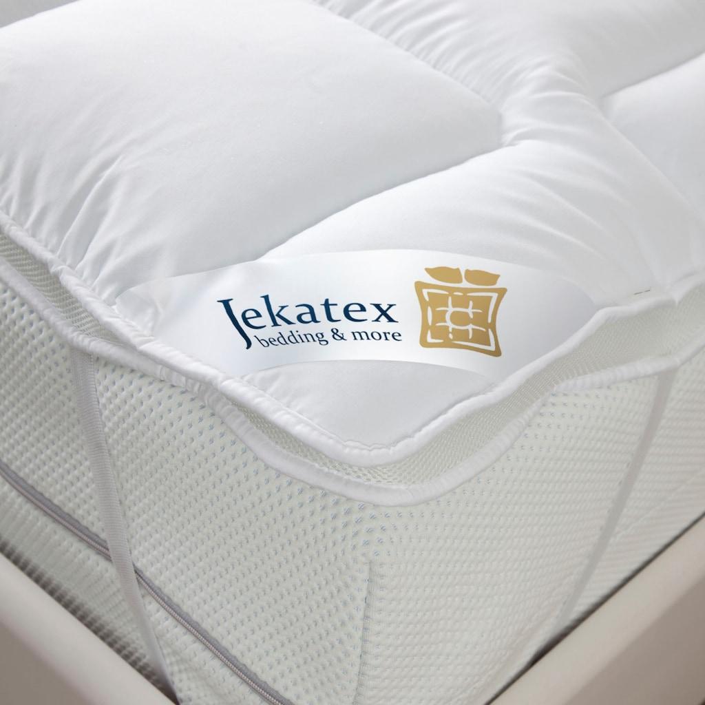 Jekatex Topper »Duo Premium 5 Sterne«, (1 St.), langlebig und allergikerfreundlich