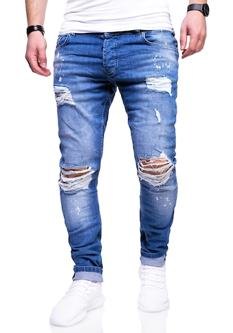 behype Slim-fit-Jeans »SLY«, mit Destroyed-Elementen kaufen