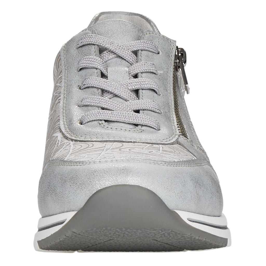 Remonte Sneaker, mit gepolstertem Schaftrand