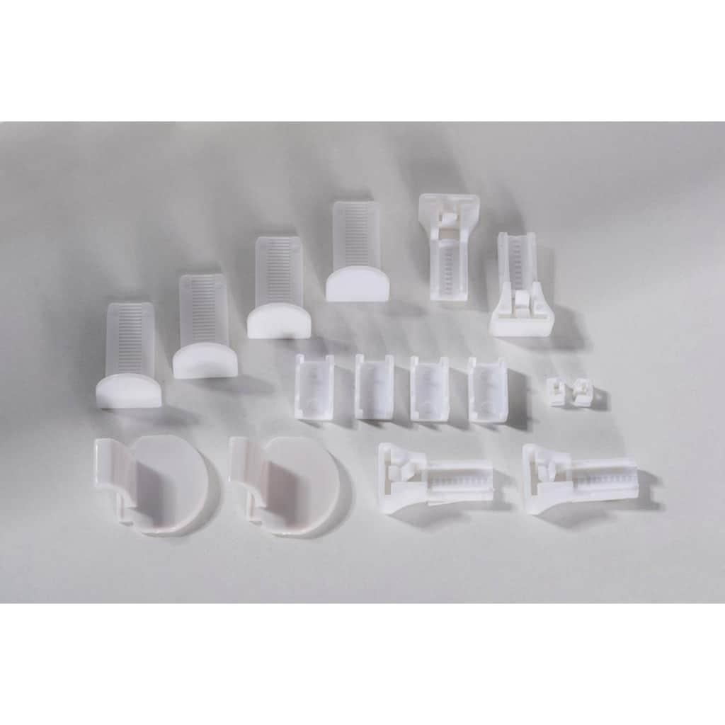 K-HOME Plissee »Capri«, Ausbrennerstoff