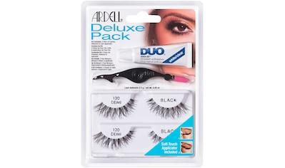 ARDELL Bandwimpern »Deluxe Pack 120«, inkl. DUO Wimpernkleber und Applikator kaufen