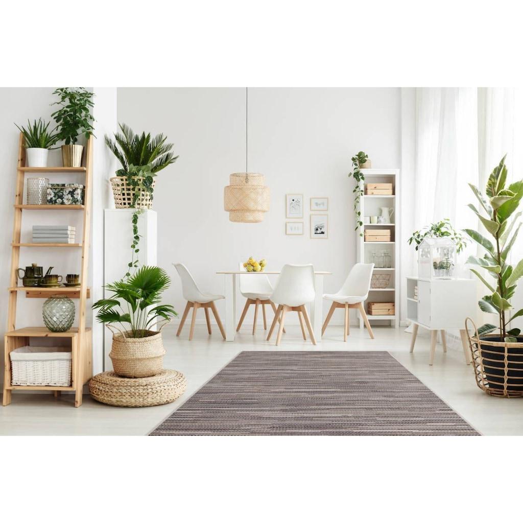 LALEE Teppich »Sunset 600«, rechteckig, 7 mm Höhe, In- und Outdoor geeignet, Wohnzimmer