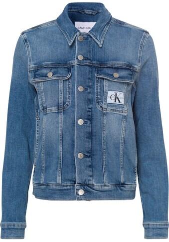 Calvin Klein Jeans Jeansjacke »REGULAR 90'S DENIM JACKET«, im typischen Calvin Klein Jeans Marken-Design kaufen