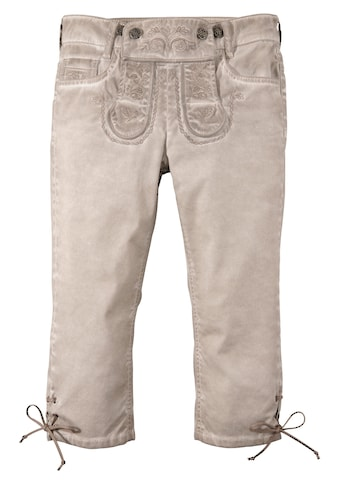 Marjo Trachtenjeans 3/4 Damen in Oil - Washed - Optik kaufen