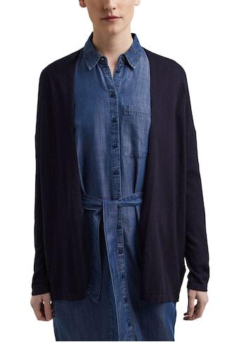 Esprit Cardigan, mit schönem Lochmuster am Rücken kaufen