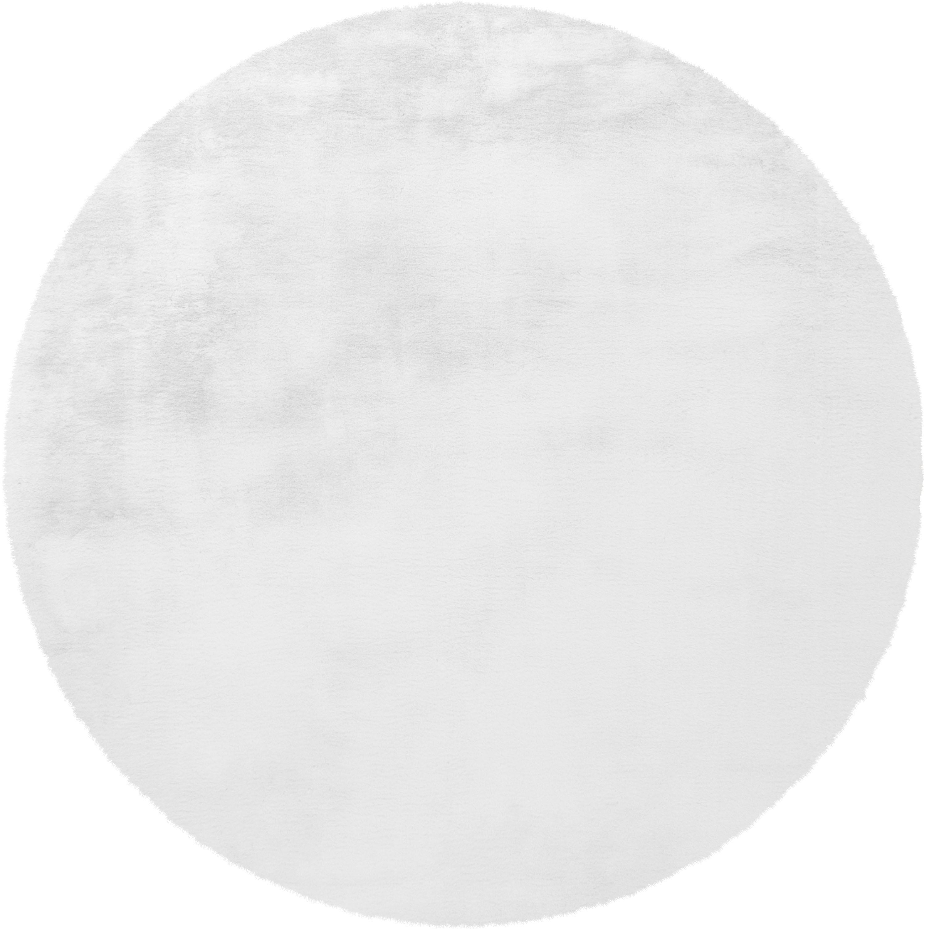 Hochflor-Teppich Rabbit 100 Arte Espina rund Höhe 45 mm handgetuftet