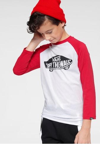 Vans Langarmshirt »OTW RAGLAN BOYS« kaufen