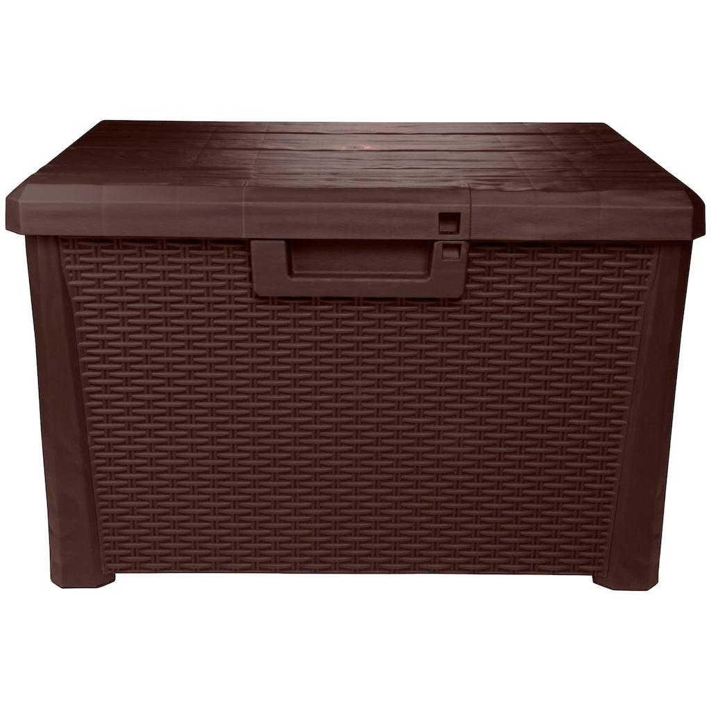 ONDIS24 Auflagenbox »Nevada Kompakt«, 120 Liter, Kunststoff