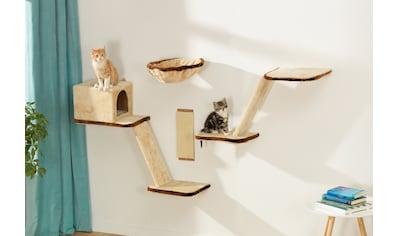 SILVIO design Katzen-Kletterwand, hoch, 8-tlg. kaufen