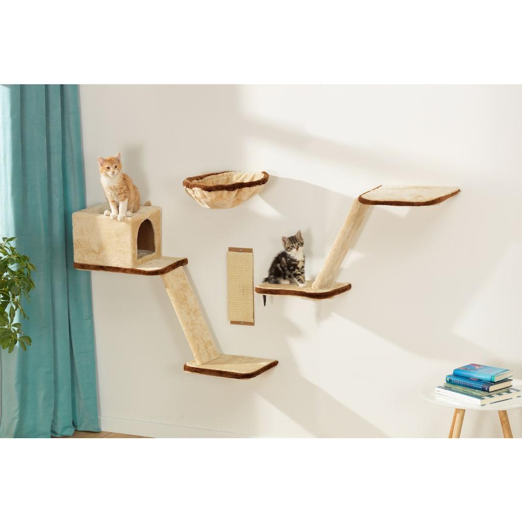 SILVIO design Katzen-Kletterwand, hoch, 8-tlg.