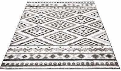 Carpet City Teppich »Moda 1129«, rechteckig, 11 mm Höhe, Kurzflor, Wohnzimmer kaufen