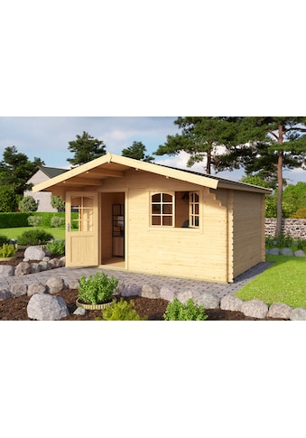 OUTDOOR LIFE PRODUCTS Set: Gartenhaus »Valga 28«, BxT: 400x430 cm, inkl. Fußboden kaufen