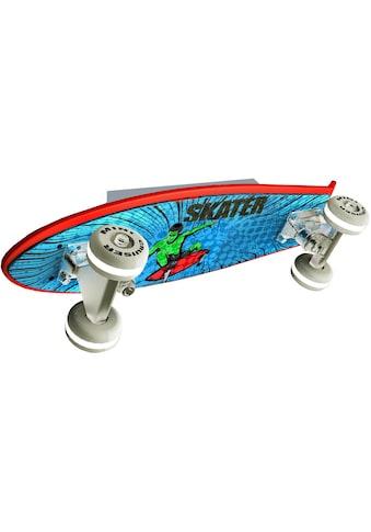 EVOTEC LED Wandleuchte »Skateboard MINI CRUISER«, LED-Board, Warmweiß kaufen