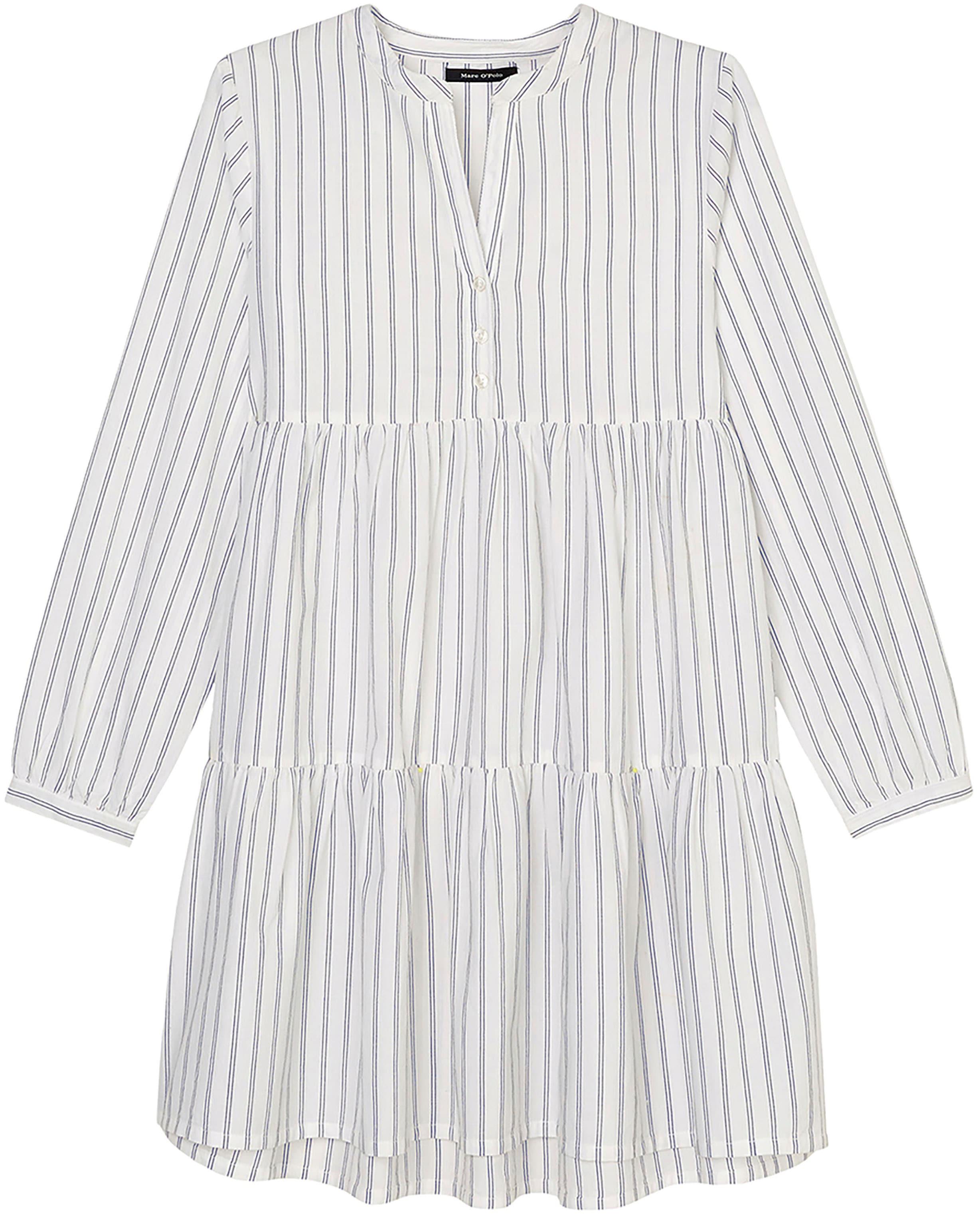 Marc O'Polo Junior Blusenkleid, mit Rüschen am Ärmel weiß Mädchen Festliche Blusen Mode Mädchenkleidung Blusenkleid