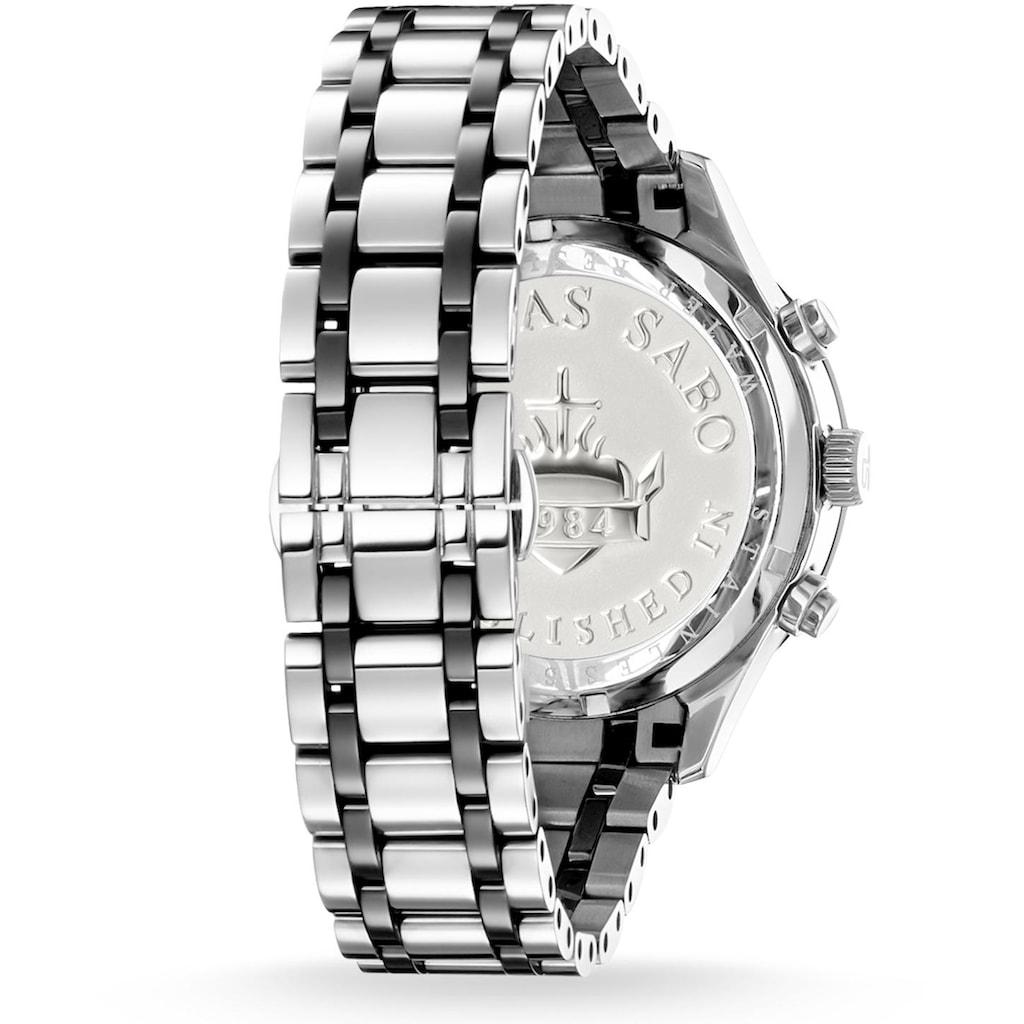 THOMAS SABO Chronograph »REBEL URBAN, WA0139-222-203«