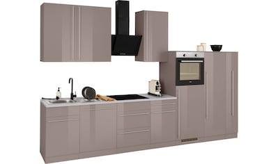 wiho Küchen Küchenzeile »Chicago«, ohne E-Geräte, Breite 360 cm kaufen