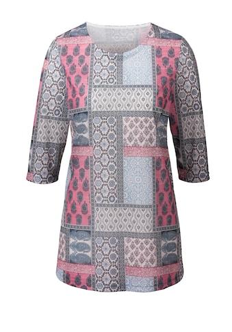 Classic Basics Blickfangstark bedrucktes Longshirt kaufen