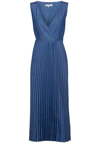 Herrlicher Jeanskleid »ANIA DRESS«, mit Plisseefalten kaufen