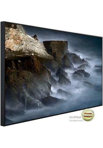 Papermoon Infrarotwandheizung »Neblige Bucht«, sehr angenehme Strahlungswärme kaufen
