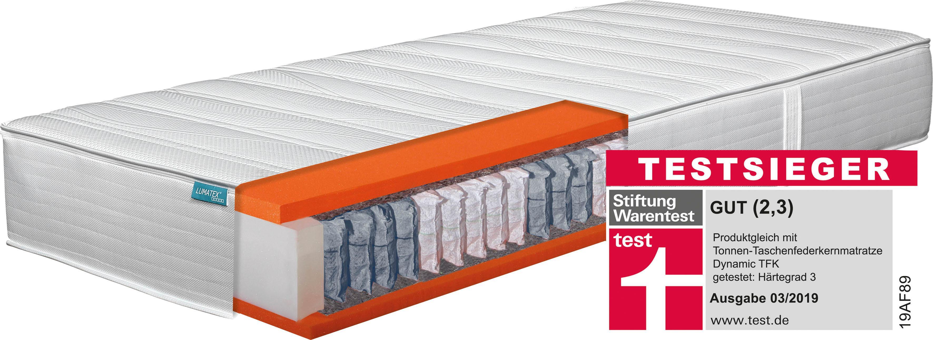 Boxspringmatratze Deluxe T-1600 Hn8 Schlafsysteme 25 cm hoch | Schlafzimmer > Matratzen > Boxspringmatratzen | Weiß | hn8 Schlafsysteme