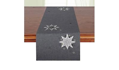 Tischläufer, »Weihnachtssterne«, Delindo Lifestyle (1 - tlg.) kaufen