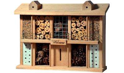 LUXUS-INSEKTENHOTEL Insektenhotel »Landsitz Superior«, BxTxH: 47x12,5x34 cm, fertig... kaufen