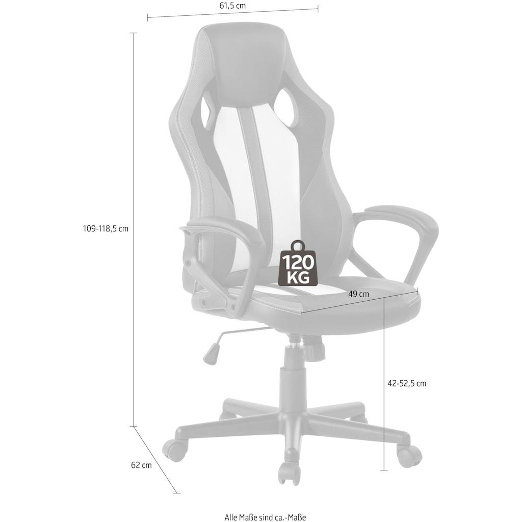 INOSIGN Drehstuhl, mit Armlehnen, Gaming Chair