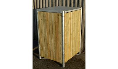 Hide Mülltonnenbox, für 1 x 240 l, natur kaufen