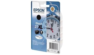 Epson »T2711, 27XL Original Schwarz C13T27114012« Tintenpatrone kaufen